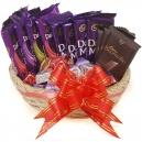 assorted chocolate basket online