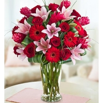 red roses,Gerbera,lilies Delivery To Philippines