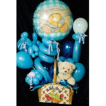 Bear & Balloon arrangement Send To manila Philippines
