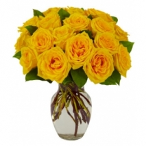 Yellow Rose Bouquet Send To Philippines