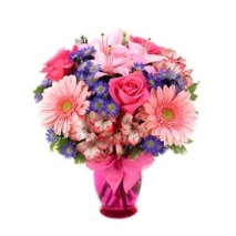 Pink Delight Bouquet Send To Philippines