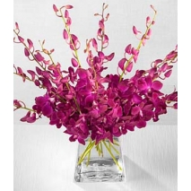 Amethyst Orchid Bouquet Send To Philippines
