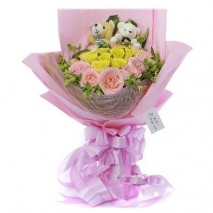 Blooming Beauties Bouquet Send To Philippines