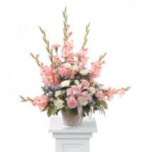 Pink Gladiolus Arrangement Delivery To Philippines