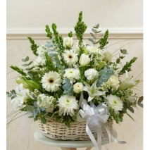 White Divinity Basket Send To Philippines