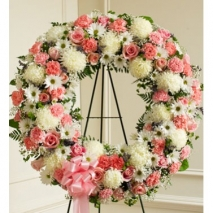 First-Class Wreath Send To Philippines