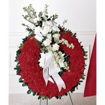 Patriotic Tribute Wreath Send To Philippines