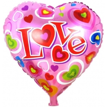 1pc I LOVE YOU Balloon Send To Philippines