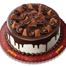 Royal Fudge Cake with Toblerone by Goldilocks