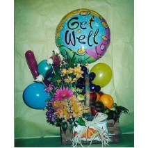 Getwell balloons & Flowers Send To Manila