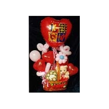 Balloons-Bear-Ferrero Choclates Send To Manila
