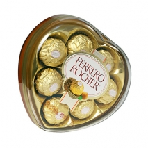 Heart shape Ferrero Send To Philippines