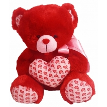 teddy bear with heart to philippines