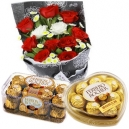 buy flowers and chocolates combo