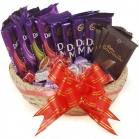 assorted chocolate basket online
