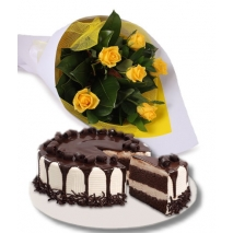 flower with cake to philippines