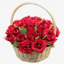 send 24 red roses in basket philippines