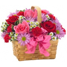 buy seasonal flowers basket to philippines