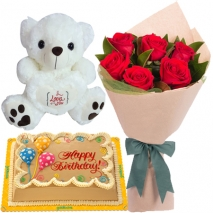 send cake bear flower philippines