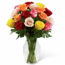 12 Classic Roses Send To Philippines