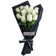 buy white roses bouquet in philippines