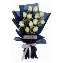 buy white roses bouquet philippines