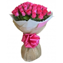 buy 24 pink roses bouquet in philippines