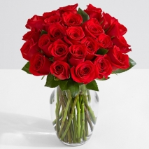 send 24 red roses vase in philippines