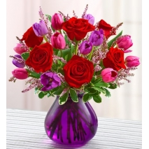 Rose and Tulip Bouquet Delivery To Philippines