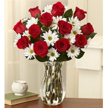 Red Roses & Daisies Delivery To Philippines
