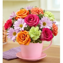 roses, carnations and daisy Delivery To Philippines