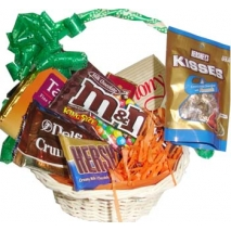 Basket of full chocolates Delivery To Philippines