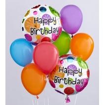 Birthday Balloon Bunch Send To Philippines