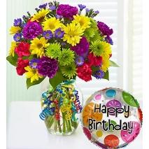 Happy Birthday Bouquet Send To Philippines