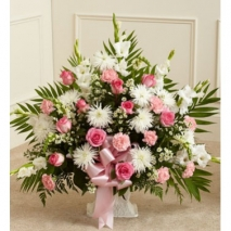 Flamingo Sympathy Basket Delivery To Philippines