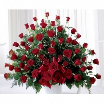 Red Rose Arrangement Send To Philippines