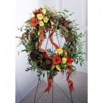 Flourishing Garden Wreath Send To Philippines