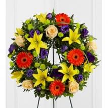 Joyous Life Wreath Send To Philippines