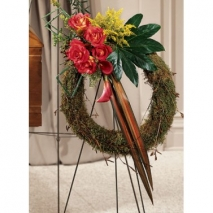 Never-ending Love Wreath Send To Philippines