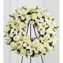 Lily Heaven Wreath Send To Philippines