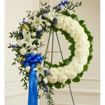 Artistically Designed Wreath Send To Philippines