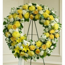 Bright Beauty Wreath Send To Philippines