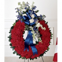 All American Tribute Wreath Send To Philippines