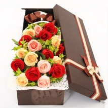 100 Stem Rose Box Send To Philippines