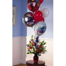 Wishes Balloons Arrangement Send To manila