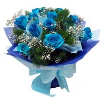 send blue roses bouquet to philippines