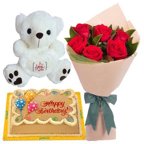 send cake bear flower philippines