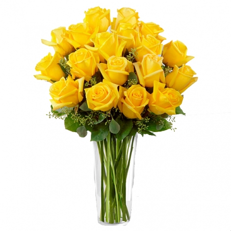 buy 18 yellow roses in philippines