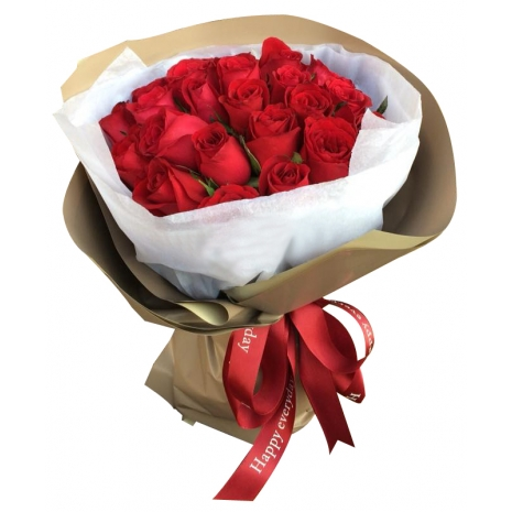 buy 24 red roses bouquet philippines
