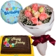 send roses bouquet choco cake and balloon philippines